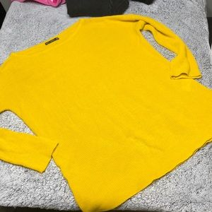 Zara knit sweater M